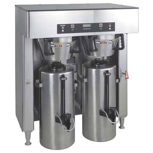 Filter coffee machine - TITAN DUAL - Bunn-O-Matic Corporation - commercial  / automatic / 2-group