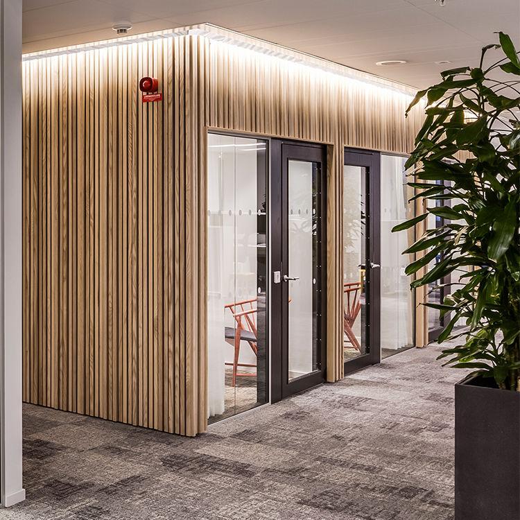 Wood Wall Cladding Panel Interior Natural Wood Look