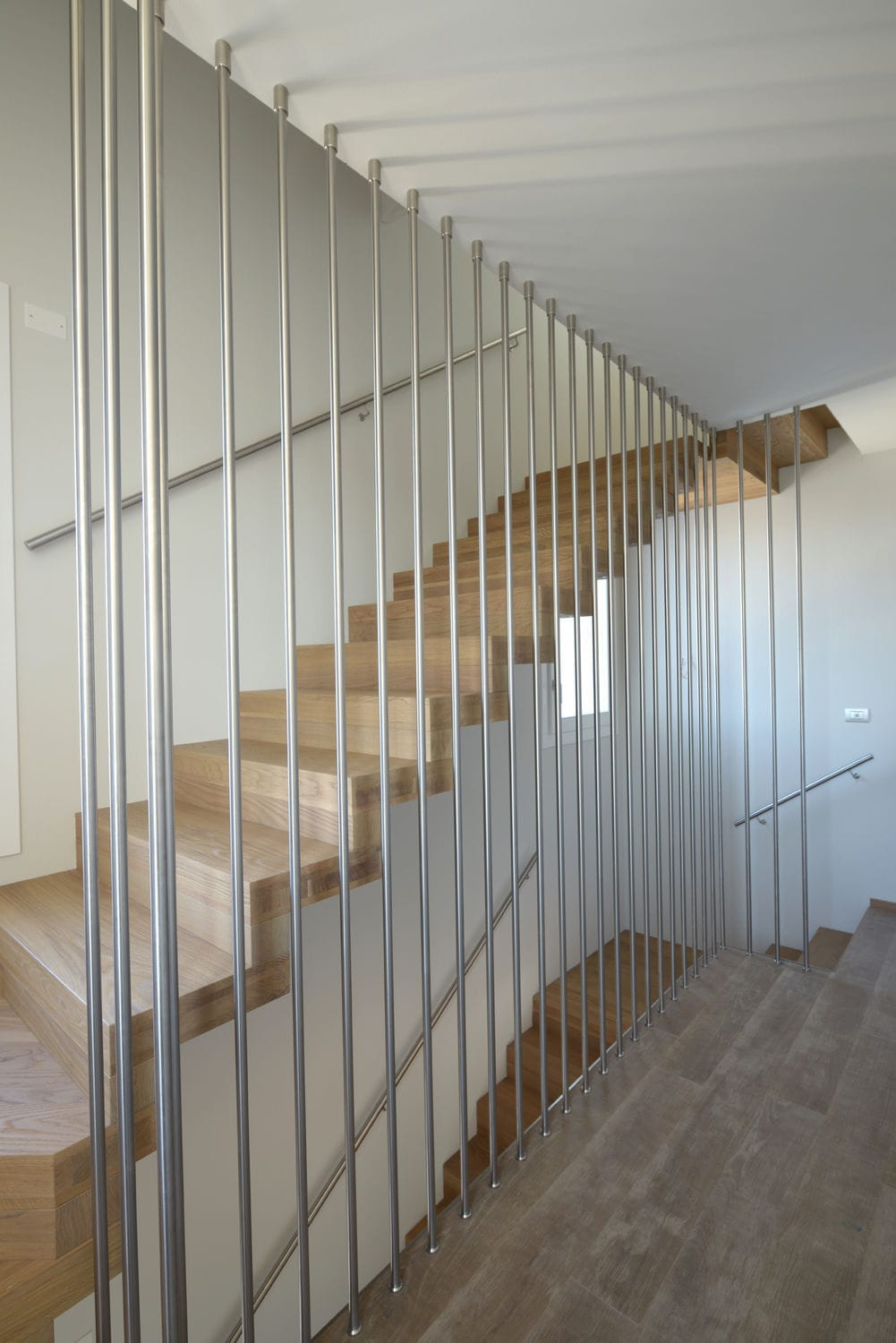 Garde Corps Cage Escalier stainless steel railing / with bars / indoor - cage - tecnoscale