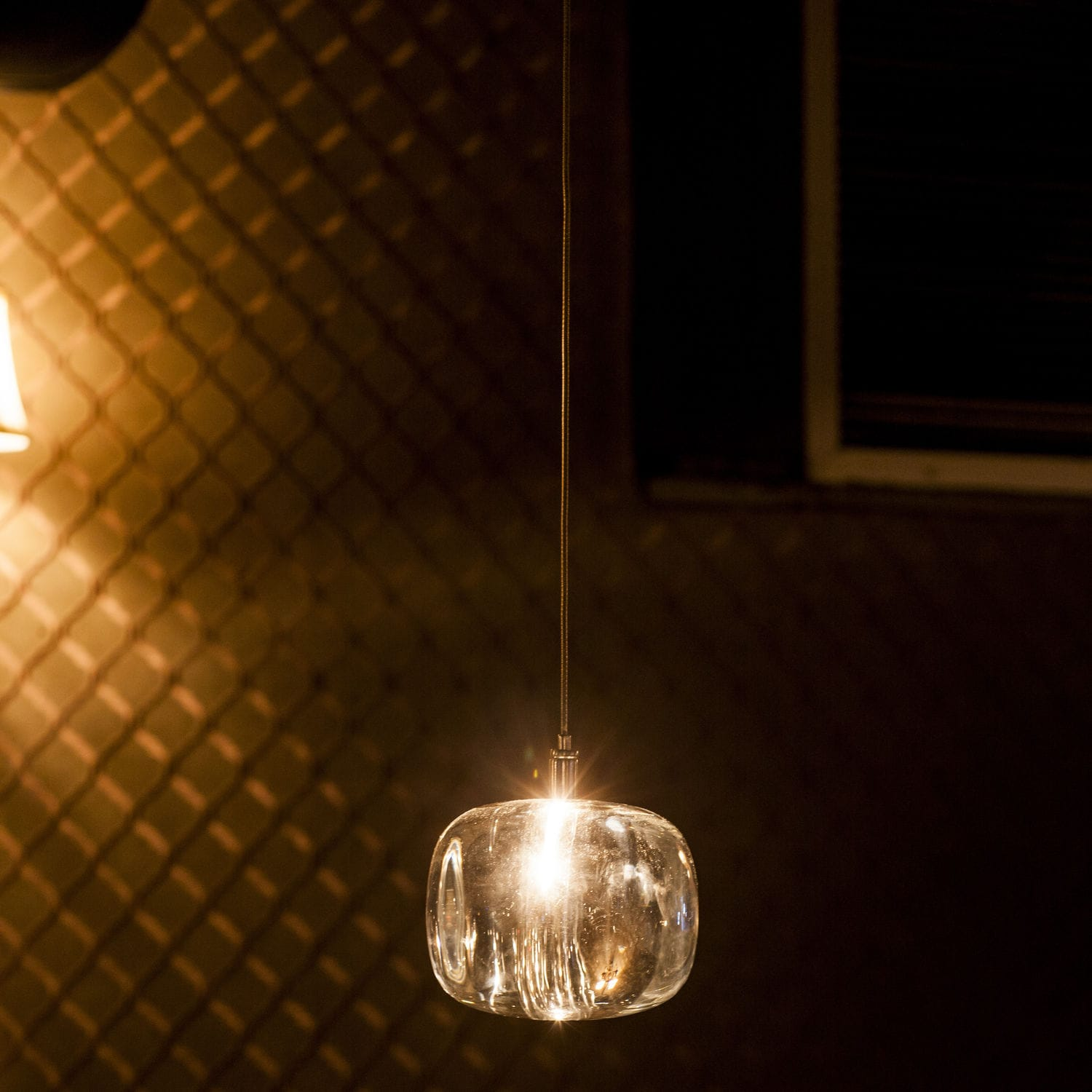 Pendant Lamp Contemporary Crystal Led Cubie By