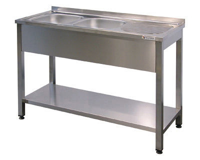 Single Bowl Kitchen Sink Stainless Steel Commercial