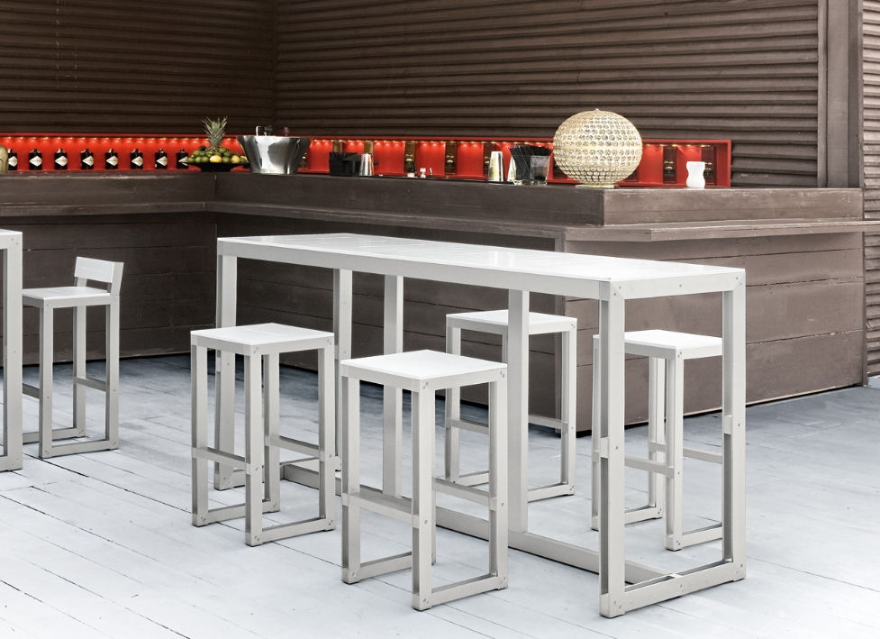 Contemporary Bar Stool Zerodieci Everest S R L