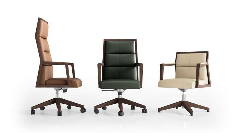 Contemporary Office Chair Square