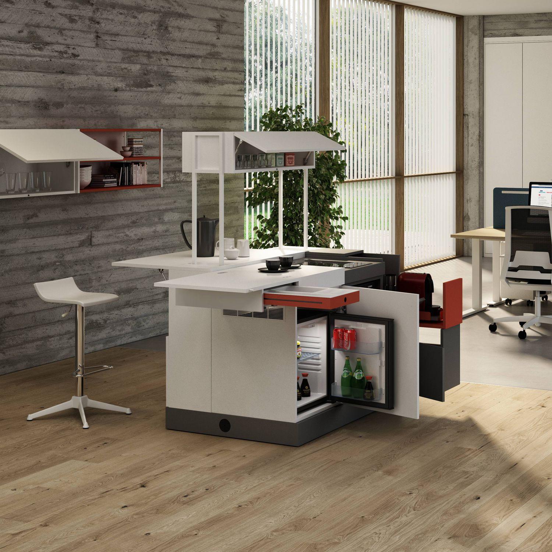 Office kitchen island - DOMOMAG - Bralco