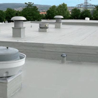 Flat roof liquid waterproofing / polyurethane - KEMPEROL 1K-PUR