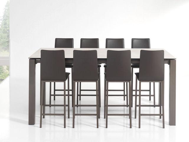 acheter pas cher 56110 e6a59 Contemporary bar chair / upholstered / metal / white - KOKO ...