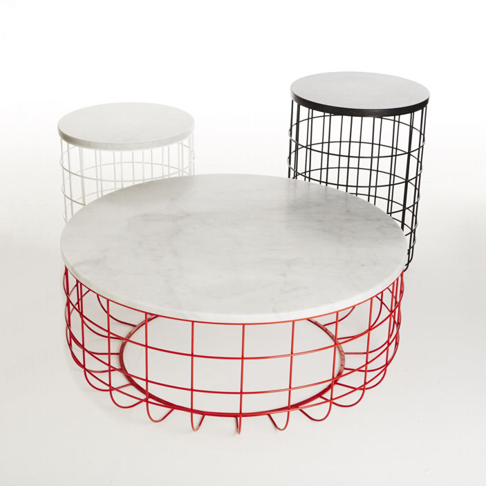 Wire Frame Coffee Table.Contemporary Coffee Table American Walnut Natural Oak Wire