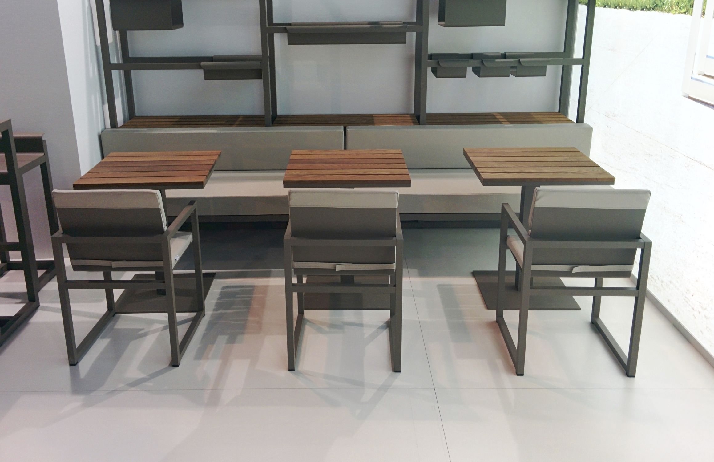 Excellent Contemporary dining table / ash / aluminum / rectangular - SPIKES  NW27