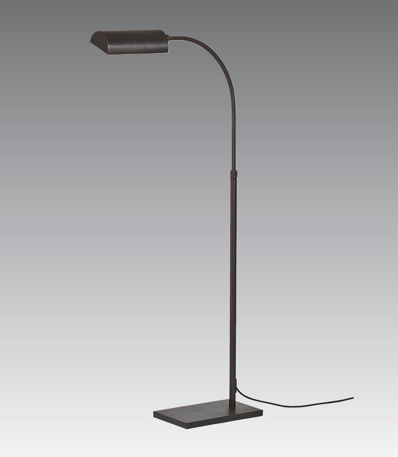 Floor Standing Lamp Contemporary Bronze Dimmable Neith