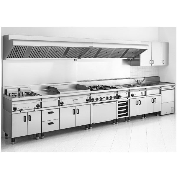 Stainless steel commercial kitchen / modular - L-65 - Mainho ...