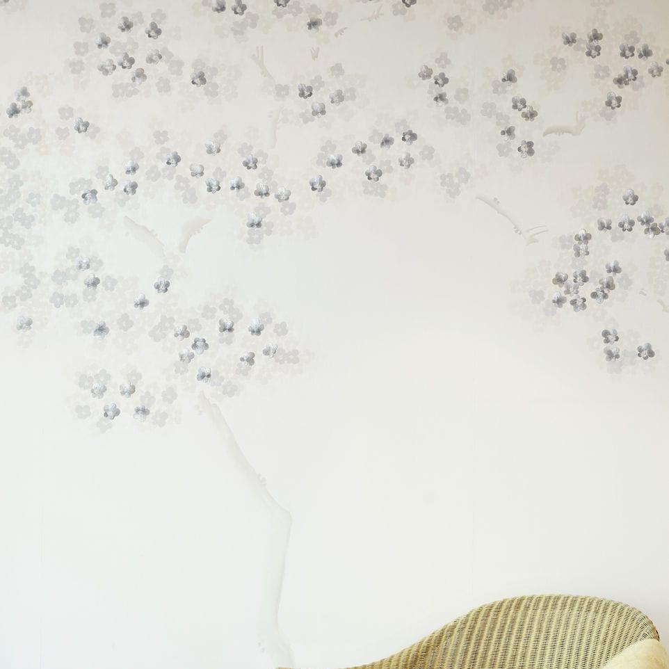 silk / nature pattern / scenic