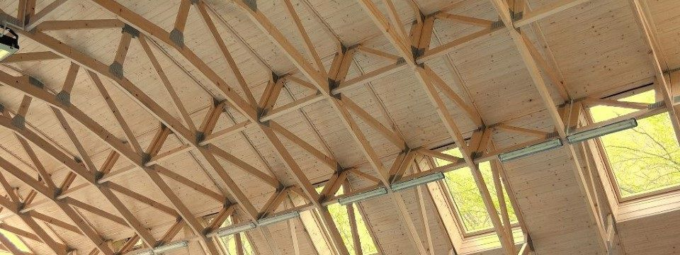Wooden Roof Framing Truss Mitek Industries Ltd Prefab