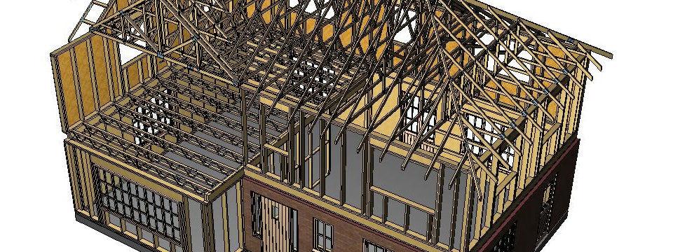 Calculation software / drawing / for wooden structures / 2D WOODENGINE  TIMBER FRAME DETAILING MiTek Industries Ltd