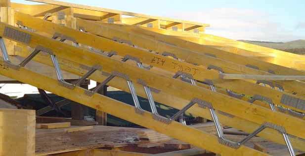 Wooden girder / metal / lattice - POSI‐JOIST™ - Pasquill Roof