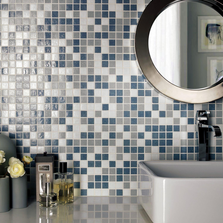 Bathroom Mosaic Tile Melange Armonie By Artecasa Cer Wall Porcelain Stoneware Square