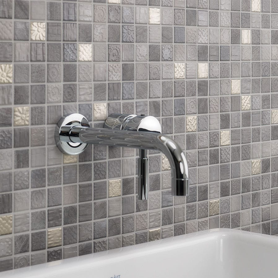 Traces Lava Grey Mix Jasba Mosaik