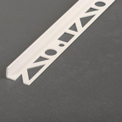 PVC edge trim / for tiles / outside corner / for carpets