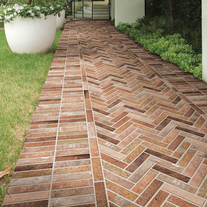 Indoor Tile Red Ceramica Rondine, Outdoor Brick Floor Tiles