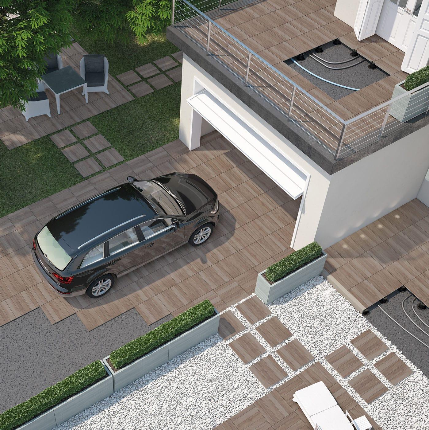 Car Park Tiles Design Boyota
