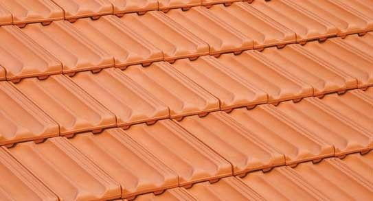 French roof tile / clay - NATURAL RED - VE-VA