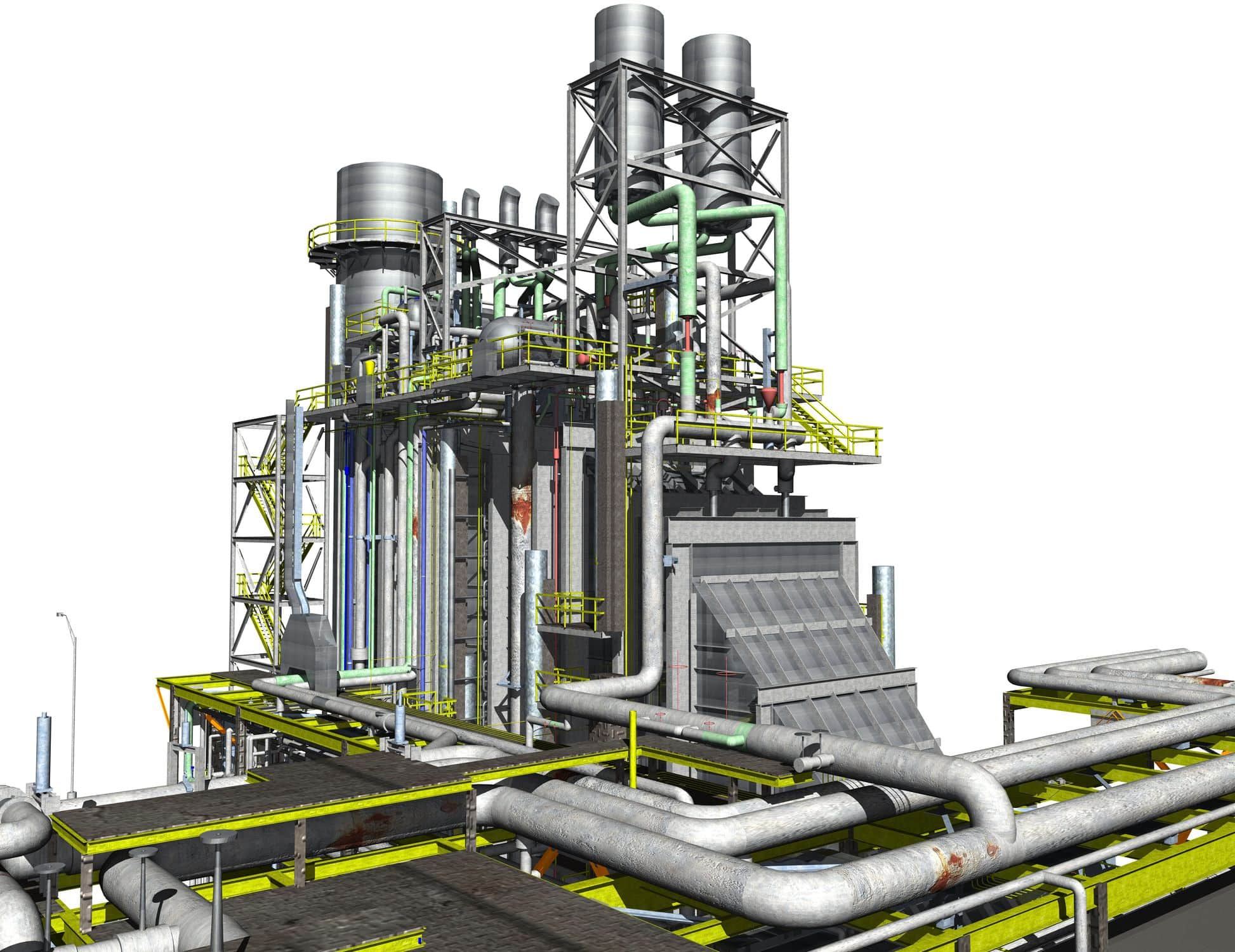 CAD software / architecture / for hydraulic and thermal installations / 3D  3D PIPING VenturisIT GmbH