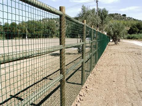 Garden Fence Carmo Plastic Mesh Metal