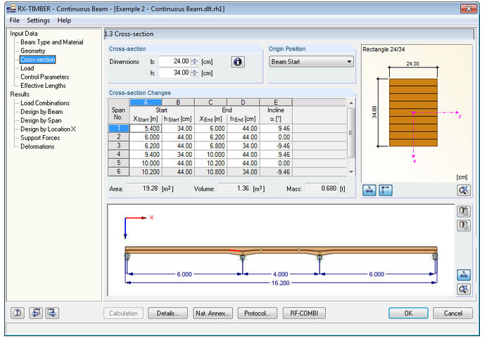 Computer-aided engineering software / for wooden structures / 3D RX-TIMBER  DLUBAL GMBH ING- SOFTWARE