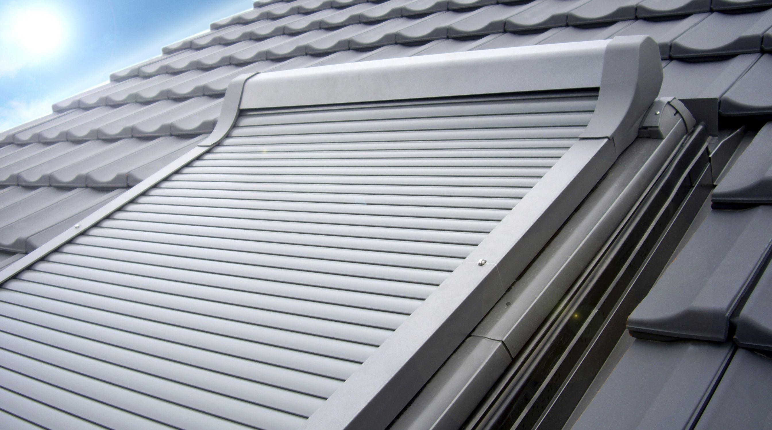 Roller Shutter Aluminum For Roof Windows Electric