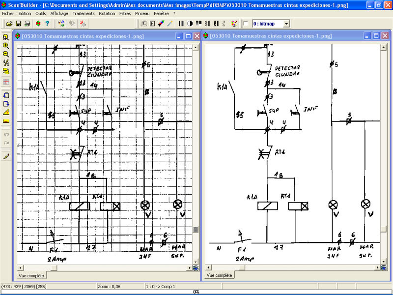 Analysis software / for electrical installations - SCAN'BUILDER