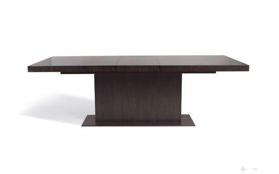 Contemporary Table Wooden Rectangular Extending
