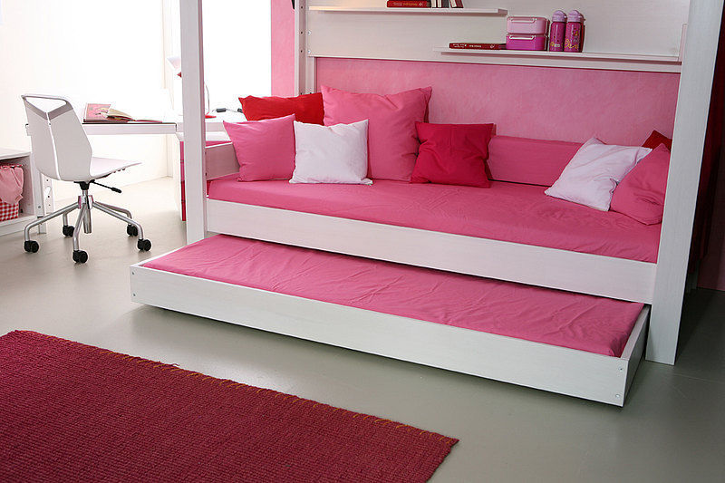 Letto A Baldacchino Rosa.Canopy Bed Debe Destyle Teenagers 03 De Breuyn Mobel Gmbh