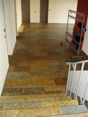 Indoor Tile Floor Slate Matte