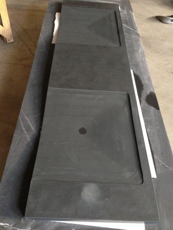 Natural stone kitchen worktop / kitchen - TOP CUCINA ARDESIA BLACK ...