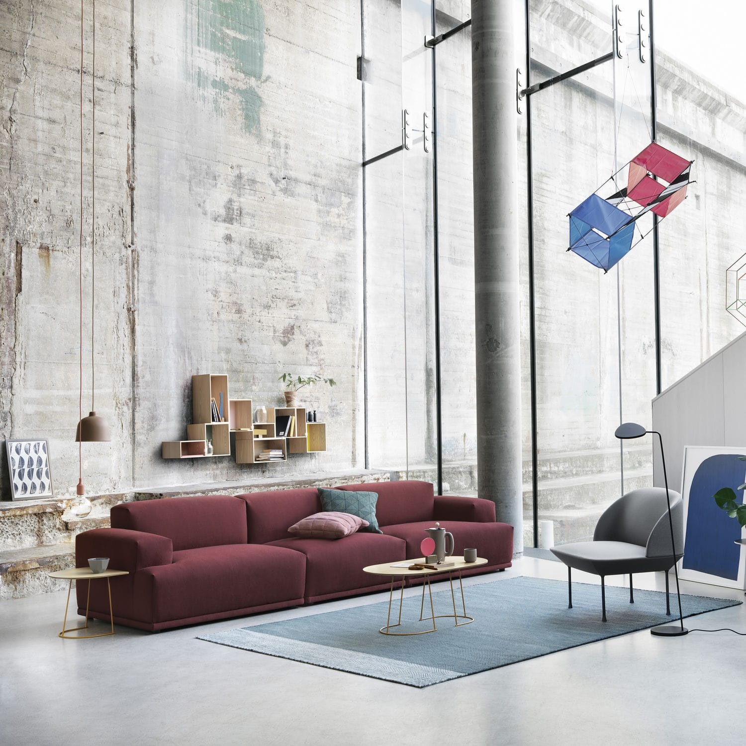 Sofa cushion square TILE by Anderssen & Voll Muuto