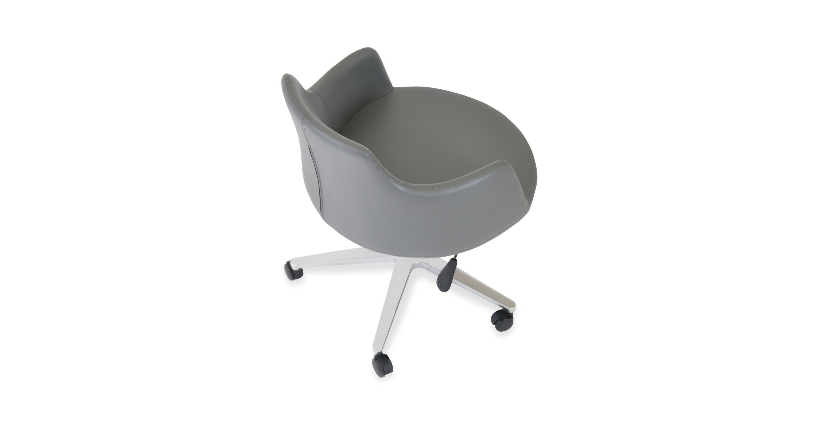Contemporary Office Chair Dervish Sohoconcept Adjustable Swivel On Casters