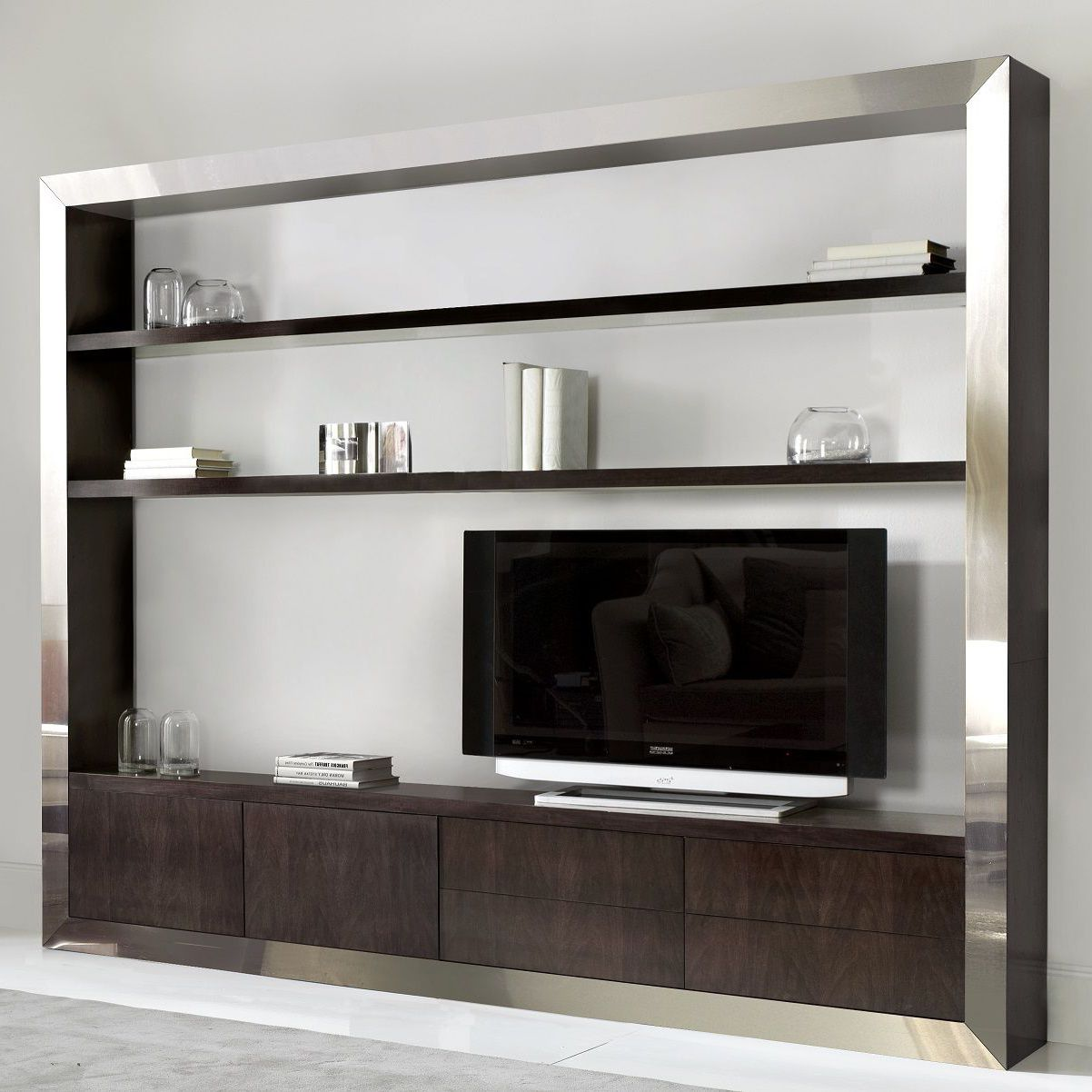 Contemporary Tv Wall Unit 846ac