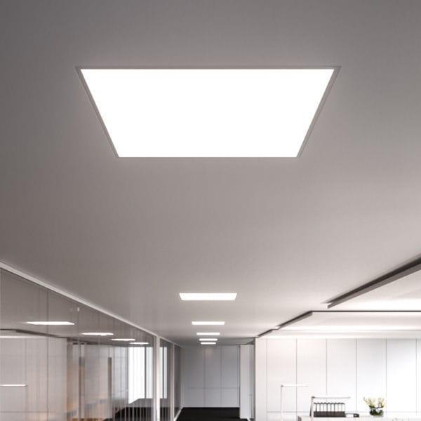 Recessed Ceiling Light Fixture Led Square Metal