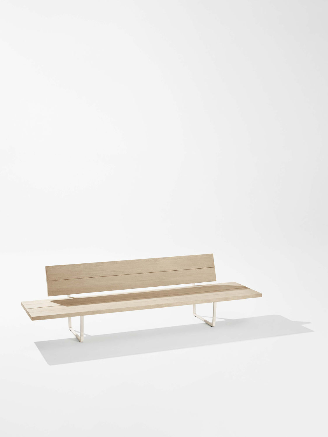 Super Garden Bench Contemporary Aluminum Fabric New Wood Pabps2019 Chair Design Images Pabps2019Com