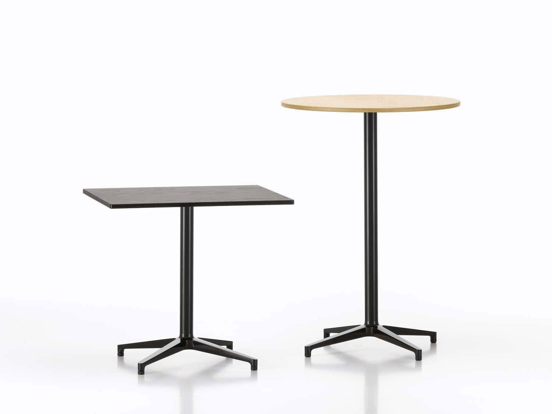 Contemporary High Bar Table Oak Laminate Melamine