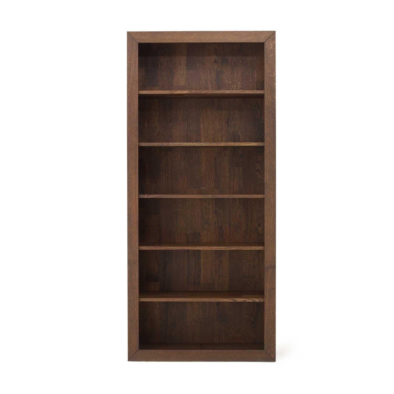 Contemporary Bookcase Oak Bespoke Sync Adventures In