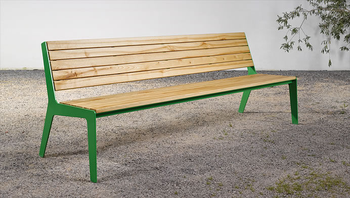 Remarkable Garden Bench Traditional Wooden Steel On 08 Silvio Gmtry Best Dining Table And Chair Ideas Images Gmtryco