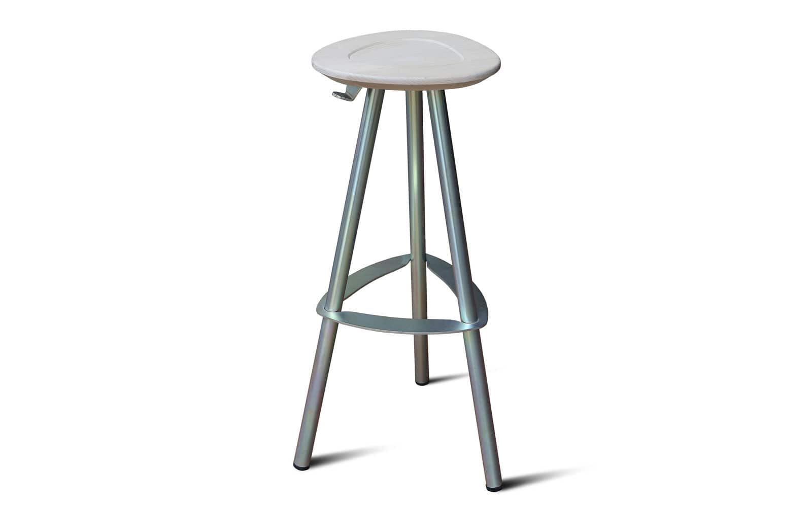 Awesome Contemporary Bar Stool Beech Steel Black Pop By Ocoug Best Dining Table And Chair Ideas Images Ocougorg