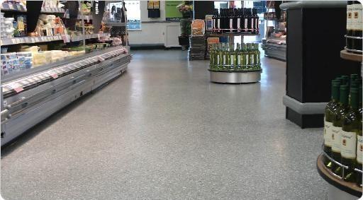 Epoxy Resin Flooring Terrazzo Smooth Concrete Look
