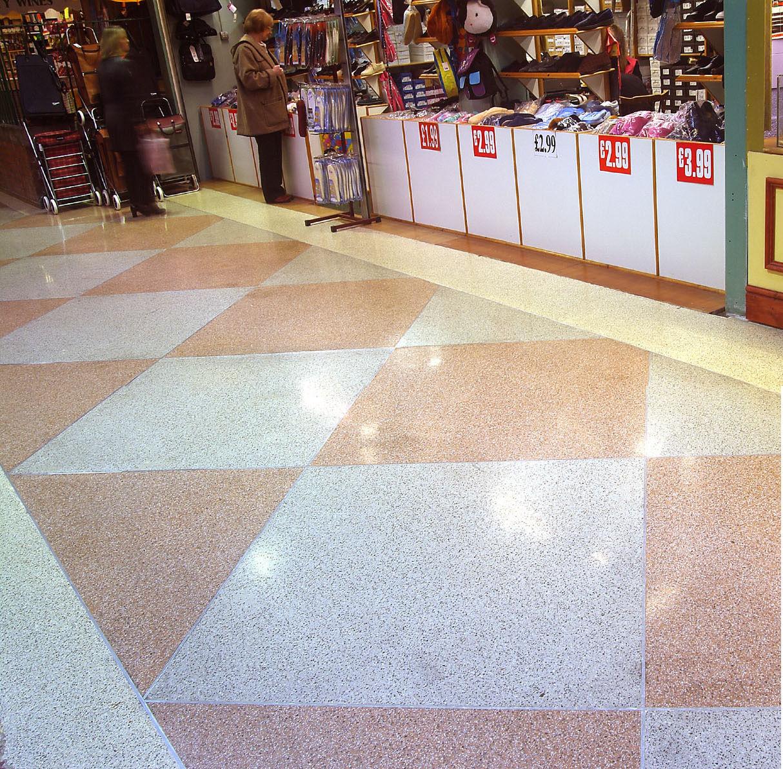 Epoxy Resin Flooring Terrazzo Smooth Marble Look
