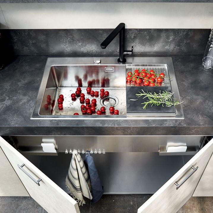 Kitchen Base Cabinet Free Standing Under Sink Unit Dibiesse
