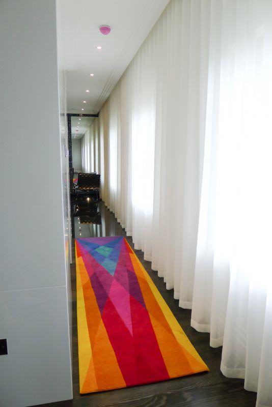 Contemporary Rug Rainbow Runner