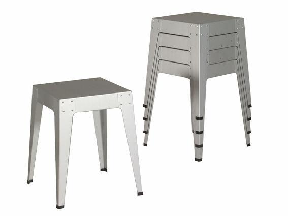Welp Contemporary stool - 1020 - piet hein eek - stackable MA-68