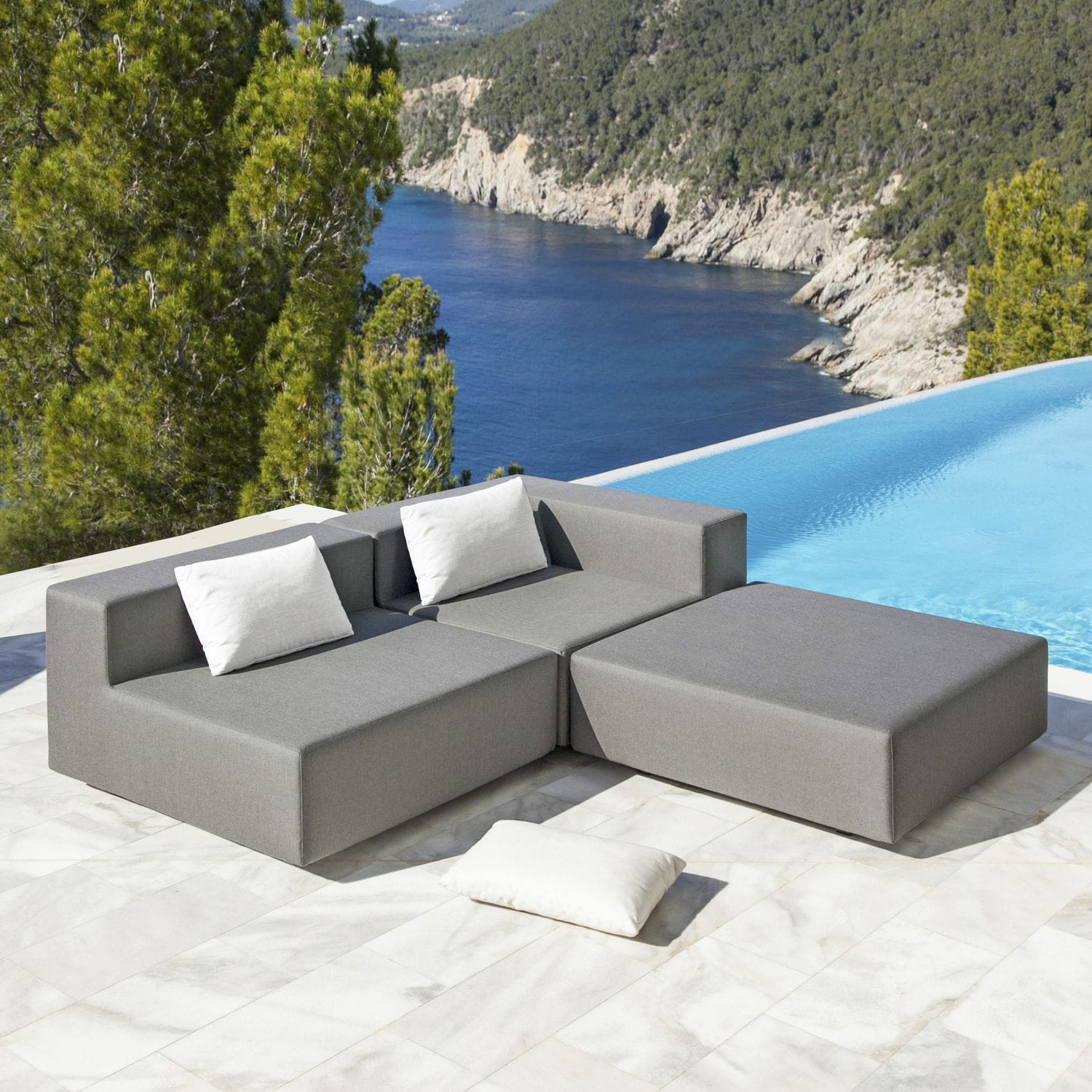 Modular Sofa Design Garden Water
