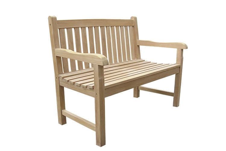 Panche Di Legno Ikea.Garden Bench Traditional Teak With Backrest Classica By