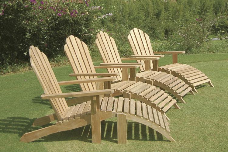 Sdraio In Legno Per Giardino.Traditional Sun Lounger Riviera By Crs Silat Il Giardino Di Legno